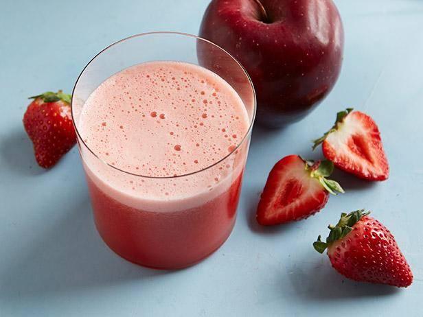 Apple and Strawberry Juice Recipe