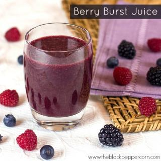Berries Juice in 2 Easy Steps