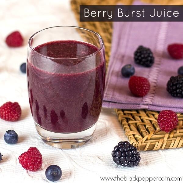 Berries Juice in 2 Easy Steps