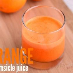Creamsicle – An Energizing Juicing Recipe