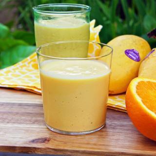 Mango Orange Smoothie Recipe