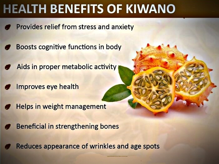 kiwano melon benefits