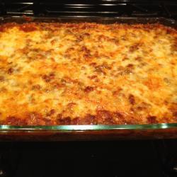 Baked Spaghetti Lasagna