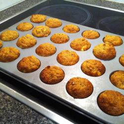 Banana Mango Mini Muffins