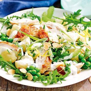 Chicken Potatoes Salad