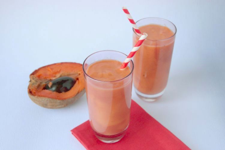 Chocolate Mamey Sapote Smoothie Recipe