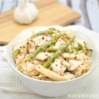 Healthy Pasta Recipe with Asparagus