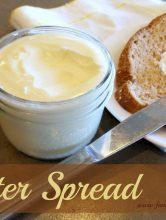 Homemade Soft Butter Spread Recipe