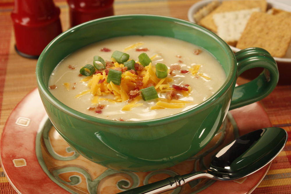 Potato Cheese Soup Recipe