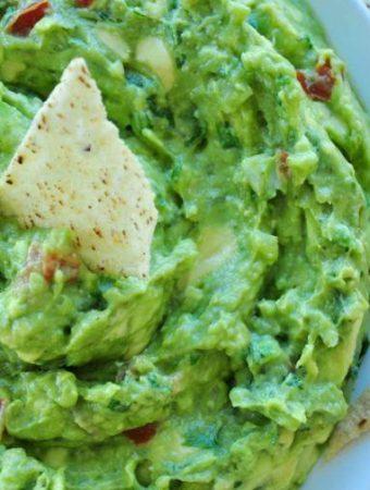 Raw Creamy or Chunky Style Guacamole Dip Recipe