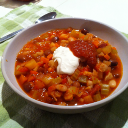 Vegetable Bacon Chili