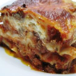 Wonton Wrappers Lasagna