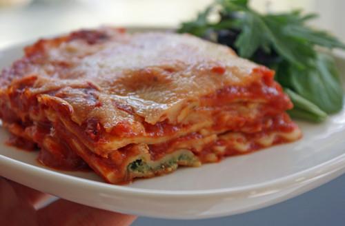 Wonton Wrappers Lasagna 1