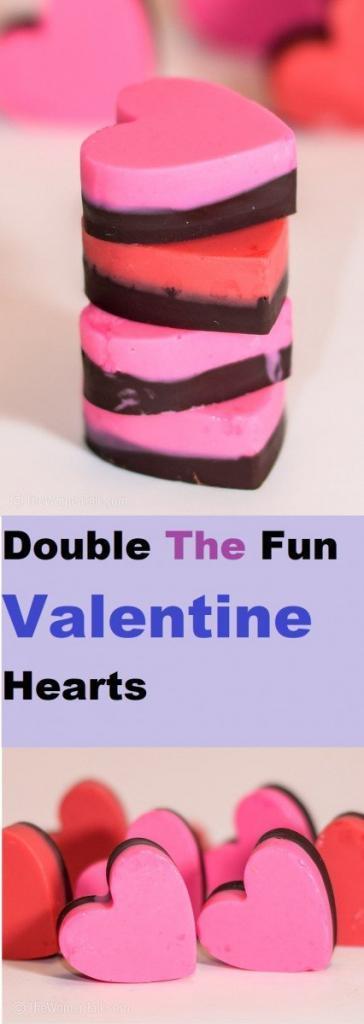 """Double The Fun"" Valentine Heart"