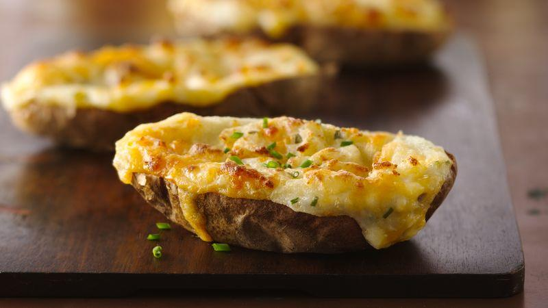 Absolutely Delicious Twice Baked Potatoes recipe