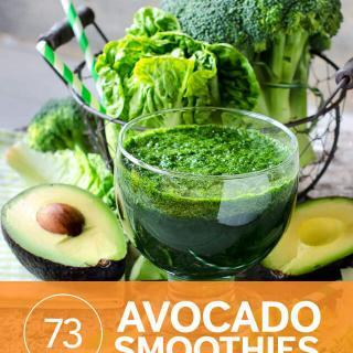 Super Healthy Avocado Kale Breakfast Smoothie