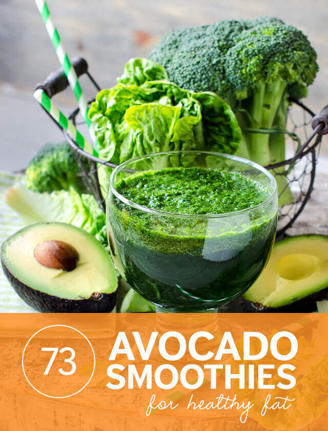 Avocado Kale Breakfast Smoothie Recipes