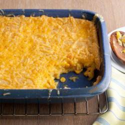 Easy Baked Corn Casserole