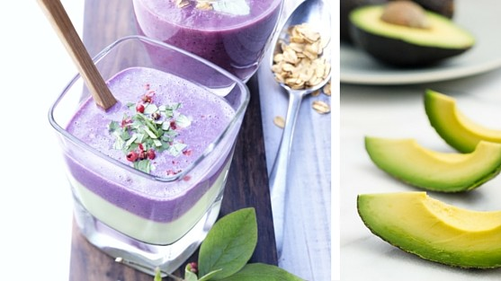 Blueberry Avocado Smoothie recipes