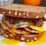 Caramelized Onions and Egg Sandwich recipe
