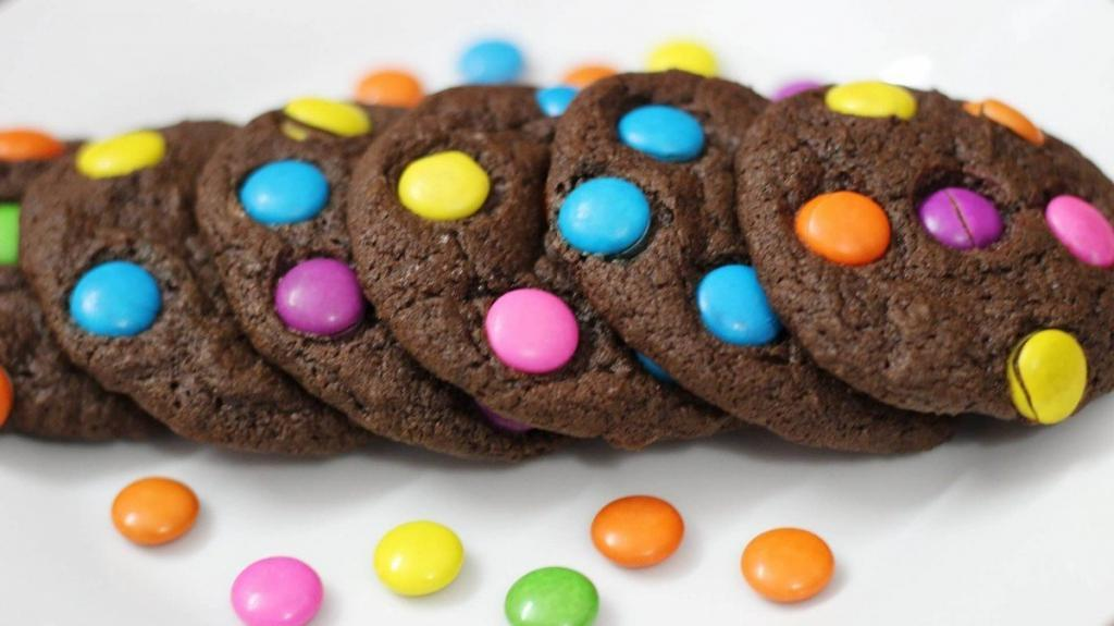 Chocolate and M&M; Cookies recipes