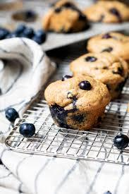 Delicious Avocado Blueberry Muffin