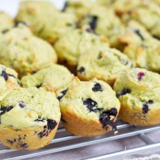 Delicious Avocado Blueberry Muffins