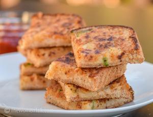 Delicious Potato Toast Bites