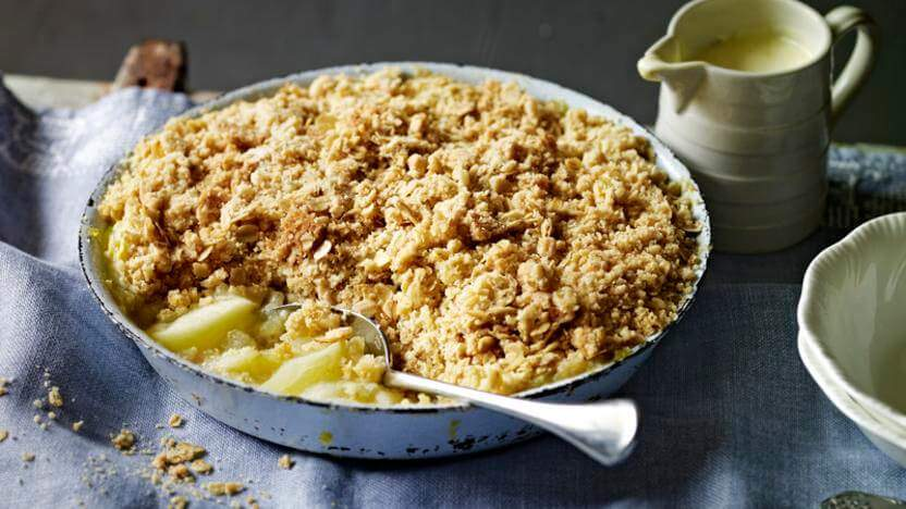 Easy Apple Crisp with Rolled Oat recipe