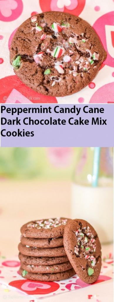 Peppermint Candy Cane Dark Chocolate Cake Mix recipe