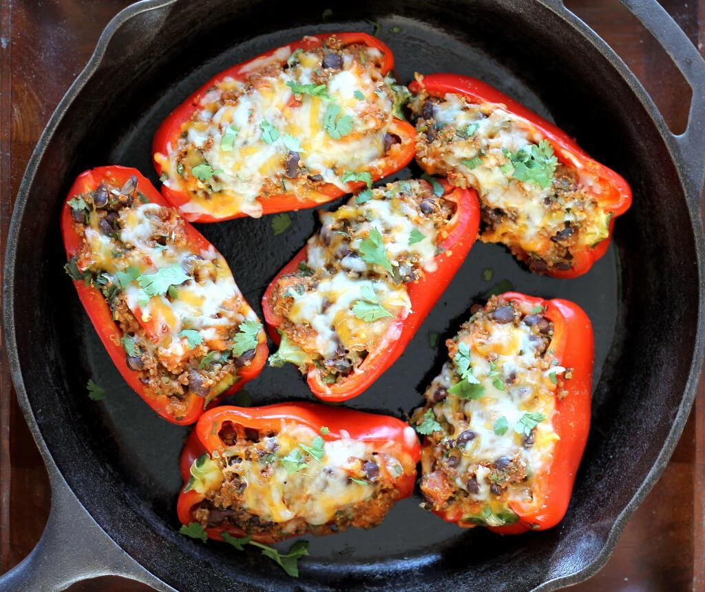 Potato Stuffed Bell Peppers recipes