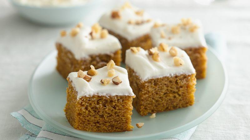 Pumpkin Pound Cake with Cream Cheese Glaze recipe