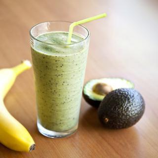 Rich and Creamy Banana Avocado Pear Smoothie
