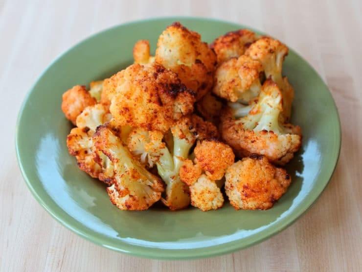 Roasted Cauliflower with Smoked Paprika