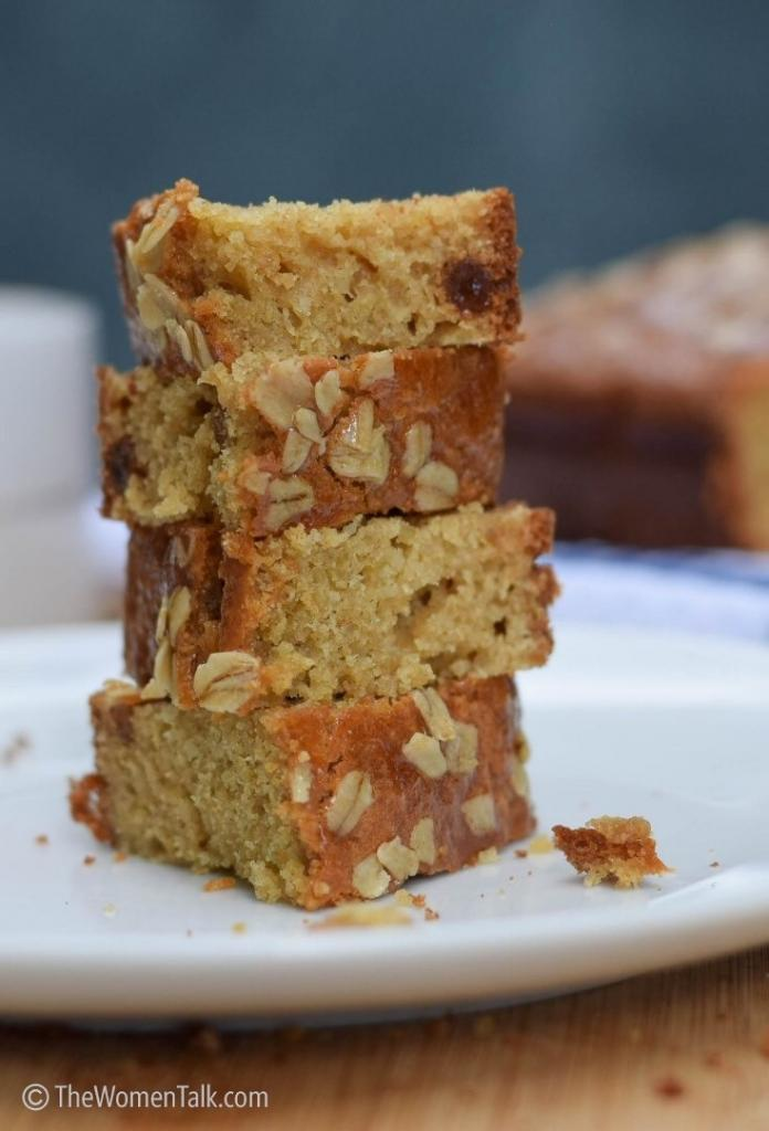 Super Healthy Quinoa Cake with Honey and Olive Oil