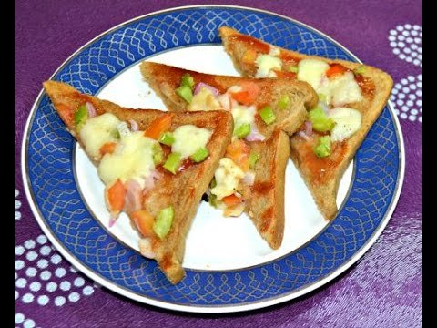 Veggie Bread Pizza for Toddler
