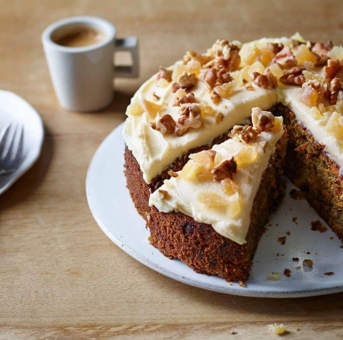 Walnut Carrot Cakes