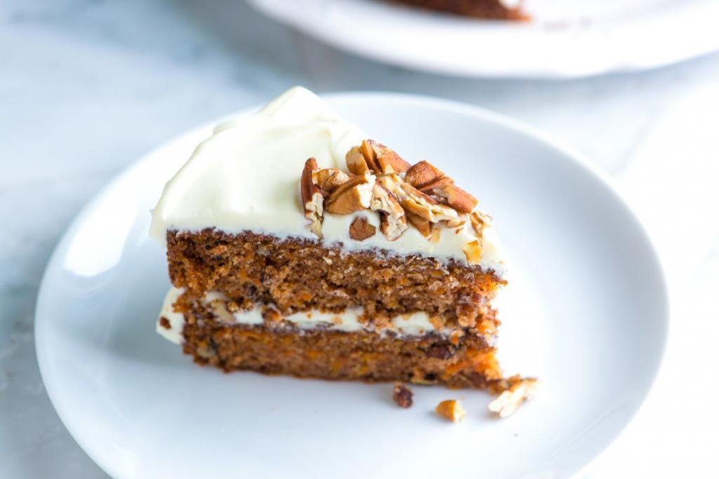Walnut Carrot Cakes recipe