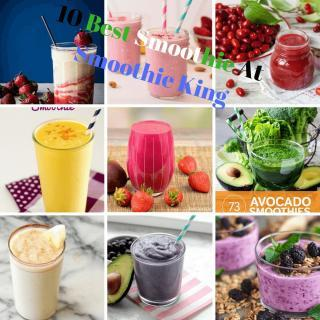 10 Best Smoothie At Smoothie King