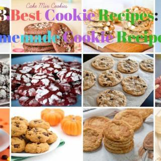13 Best Cookie Recipes: Homemade Cookie Recipes