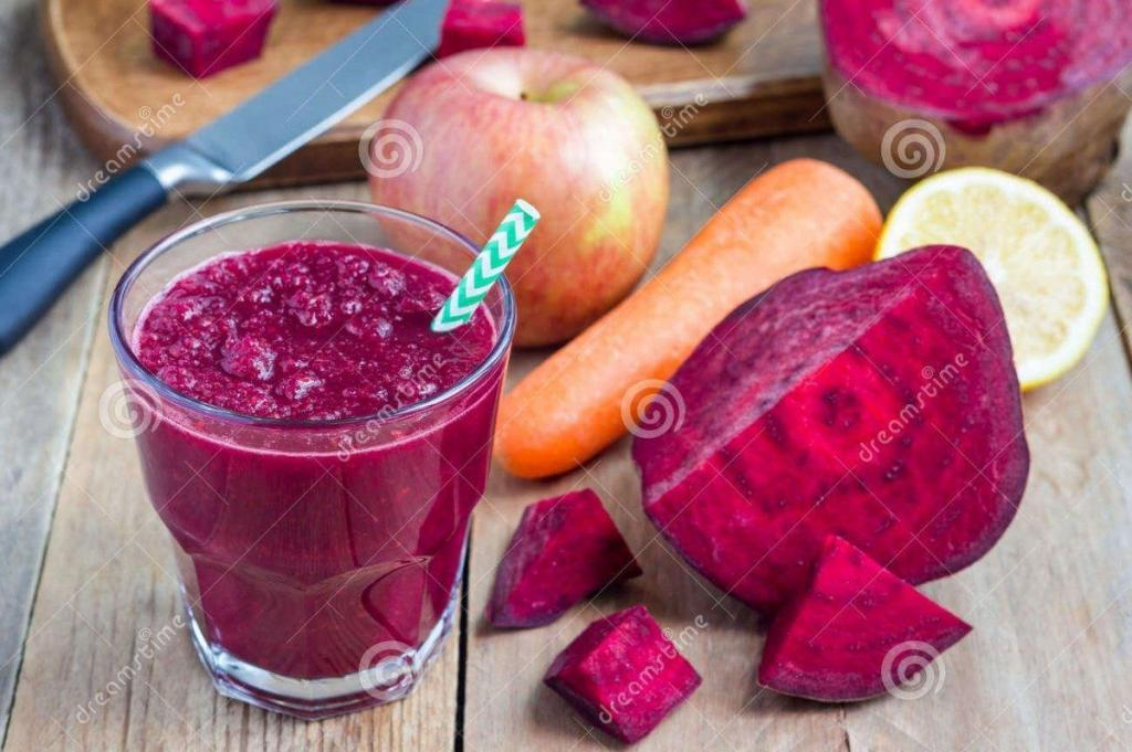 Apple Beetroot Carrot Detox Juice Recipe