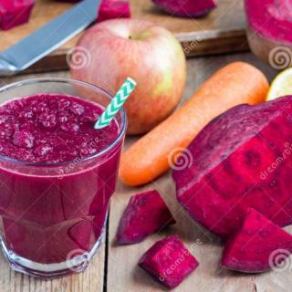 Apple Beetroot Carrot Detox Juice