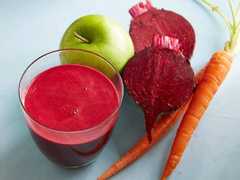 Apple Beetroot Carrot Detox Juice Recipes