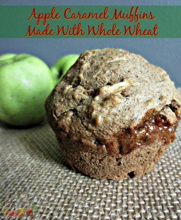 Apple Caramel Muffins