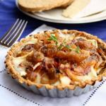 Brie and Onion tart