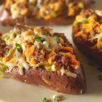 Creamy Twice Baked Sweet Potatoes