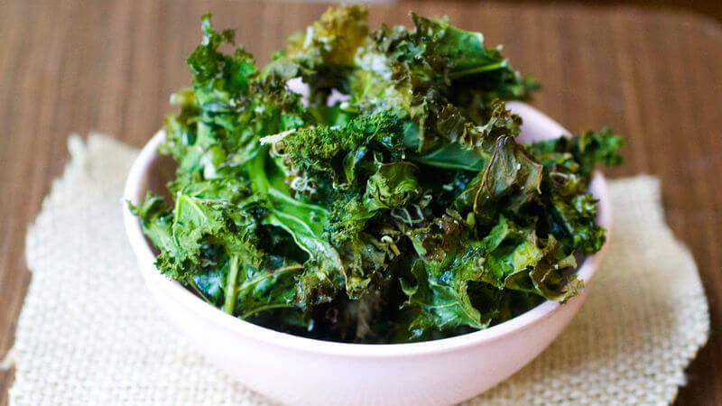 Crispy Baked Kale Chips Recipes