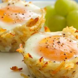 Hashbrown Eggs and Veggie Breakfast Muffins