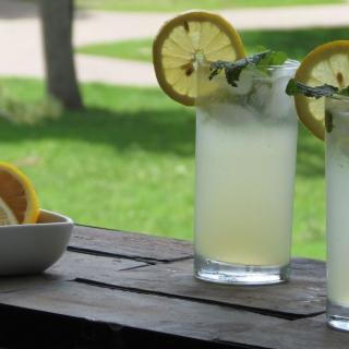 Refreshing Mint Lemonade Summer Drink