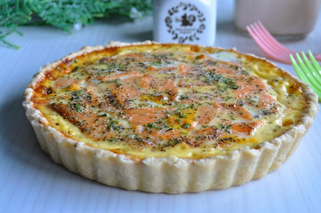 Smoked Salmon Mushroom Quiche recipes